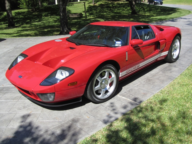 Ford GT Leake Auction