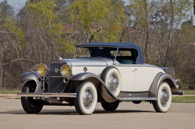 1931 Cadillac V12 Roadster (Lot S98)